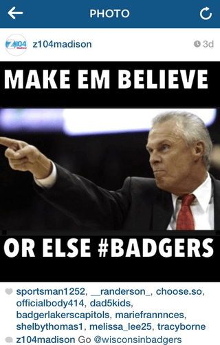 Angry Bo Ryan pointing